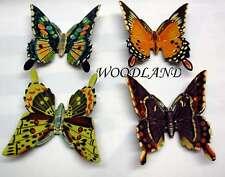 Jeu de 4 Papillons AIMANT DE RÉFRIGÉRATEUR Z3