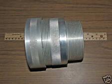 """ALUMINUM METAL CLAD TERMINATION CONNECTOR 3-1/2"""" Hub 3.31 -3.45"""" DIAMETER RANGE"""