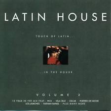 LATIN HOUSE VOLUME 2 12 TRACCE SAMPLER CD E502