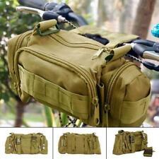Multifunction Army Cycling Bicycle Bike Handlebar Bar Bag Waist / Shoulder Bags