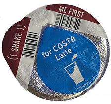 Tassimo Costa Latte 325ml Milk Creamer Pods Only 8 16 24 32 40 (NO COFFEE DISCS)