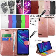 For Huawei Y6 2018 / Y6 2019 / Y6 2017 Fashion Wallet Leather Case Flip Cover