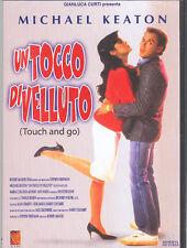 UN TOCCO DI VELLUTO - DVD ( NUOVO SIGILLATO ) MICHAEL KEATON