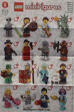 LEGO® Figuren Serie 6 - 8827 - Auswahl - NEU/OVP oder ZIP Tüte