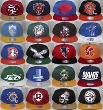 NFL XL Logo Snap Back Mitchell & Ness Snapback - Several Teams Avail