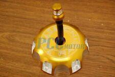 GOLD CNC BILLET FUEL GAS CAP For YAMAHA YZ250 YZ125 YZ 250 125 2002-10 H GC12