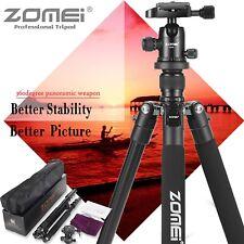 Zomei Q555 Portable Aluminium Camera Tripod Ball Head stand for Canon Camera