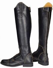 Tuffrider Natasha Tall Leather Field Riding Boots with Spanish Cut Ladies