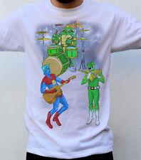 Superstar héros t shirt, captain planet, power rangers, Michel-Ange, tortues