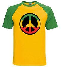 Rasta CND Símbolo Camiseta-Reggae Bob Marley raíces Rastafarian-Tallas S-XXL