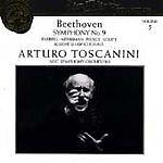 "Beethoven: Symphony No.9 ""Choral"" Arturo Toscanini Audio CD"