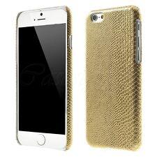 Apple iPhone 6 6S 5c Peau de Serpent Style Luxe Shine Arrière dur Housse Snap nouveau