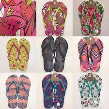 HAVAIANAS Printed Rubber Flip-Flops for Women size US 11/12 (EUR 43/44) &  9/10
