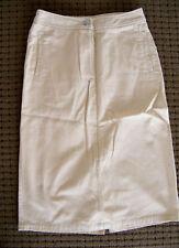 SALE COCO BEACH Beige Flight Attendant Style Ladies Straight Skirt Size 8-10