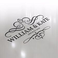 Premium Luxury Custom Wedding Logo Dance Floor Event Decor Sticker Vinyl Decal
