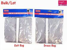 Bulk Lot Dress Garment Cover Bag Storage Suit Protector Coat Dustproof Travel