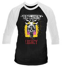 Testament 'The Legacy' 3/4 Length Sleeve Raglan Baseball Shirt - NEW & OFFICIAL!