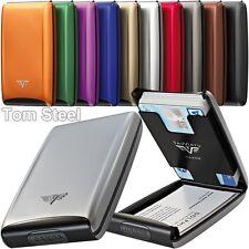 TRU VIRTU Aluminium (S) Kartenetui Visitenkartenetui Metalletui Kreditkartenetui