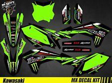 Kit Déco Moto pour / Mx Decal Kit for Kawasaki KXF - Monster Bud