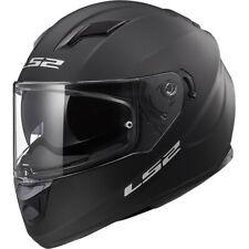 LS2 Stream Evo Solid Motorcycle Motorbike Touring Helmet - Matt Black