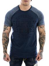 Sublevel Herren T-Shirt 20720 middle blue Neu Männer Shirt