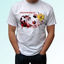 Montenegro football flag white t shirt soccer style design mens womens kids baby