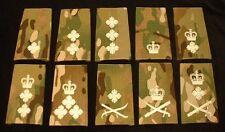 Single Officers Multi Terrain Pattern Rank Slide Multicam MTP Combat Rank Slides