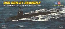 HBB87003-Hobbyboss 1:700 USS SSN-21 Seawolf de submarino de ataque -