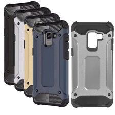 Armor Outdoor Case Samsung Galaxy A8 2018 Panzer Tasche Hülle Bumper Glasfolie