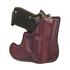 Don Hume 001 Inside Front Pocket/Jacket Brown Leather Concealment Gun Holster