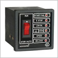 Diesel ou essence alimenté Générateur contrôleur avec auto start / démarrage à distance.