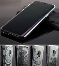 Silikon Tasche Hülle Bumper Tattoo Silicon Handytasche für Samsung Galaxy S9