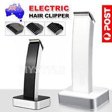 AU Men's Rechargable Electric Cordless Hair Beard Clippers Trimmer Shaver Razor