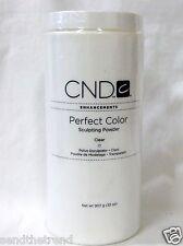CND Creative Nail Design Acrylic Nail Powder CLEAR  32oz/907g