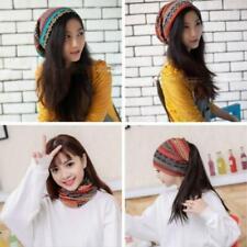 Ladies Womens Wool Knit Beanies Skull Beret Hats Slouchy Baggy Ski Cap CO
