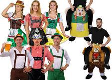 GERMAN BEER FESTIVAL OKTOBERFEST MENS WOMANS FANCY DRESS COSTUMES ACCESSORIES