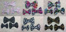 Hair bows,3 different sizes,Alligator/Crocodile clip or Barrette clip.