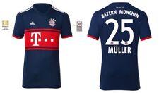 Trikot Adidas FC Bayern München 2017-2018 Away BL - Müller 25 [128 bis XXL] FCB