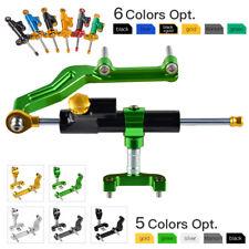 CNC Steering Damper & Mounting Bracket Set Kit for Kawasaki Z 650 17-18 2017-18