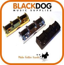 Guitarra rodillo top tuerca en chrome negro/dorado tornillos inc 43mm