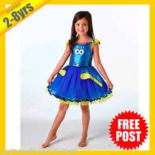 Girls Costume Fancy Child Dress RD Licensed Finding DORY DELUXE Tutu 2-8yrs