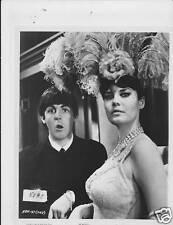 Paul McCartney busty brunette VINTAGE Photo