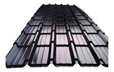 Black Tile Effect Roof Sheeting Metal Roofing Tiles Plastisol Coated Cladding