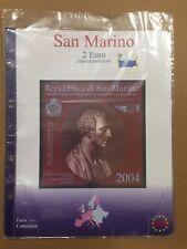 MasterPhil Aggiornamenti Fogli Pagine 2 Euro San Marino dal 2004 al 2017