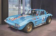 Chevrolet Grand Sport Revs Institute Motor Racing Sport Painting Art Print