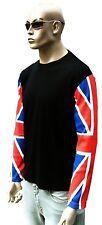 Union Jack London SCOOTER MODS punk rock Long Shirt S/M