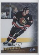 1998 Topps Finest No-Protector #13 Daniel Alfredsson Ottawa Senators Hockey Card