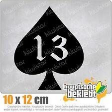 Ace of Spades 13 Oldschool csf0711 JDM Sticker Decal