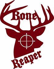 Gun Scope Bow Deer Buck Hunter Bone Hunting Car Truck Window Vinyl Decal Sticker