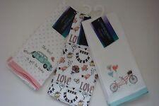 New Cynthia Rowley Luxury Wedding & Love Set of Two Dish Kitchen Towels